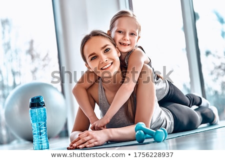 Сток-фото: женщины · подготовки · спортзал · Spa · смеясь · европейский