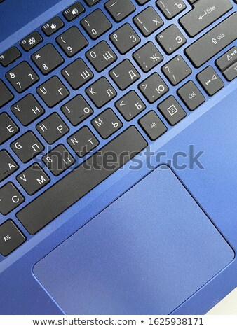 blue business interaction keypad on keyboard stock photo © tashatuvango
