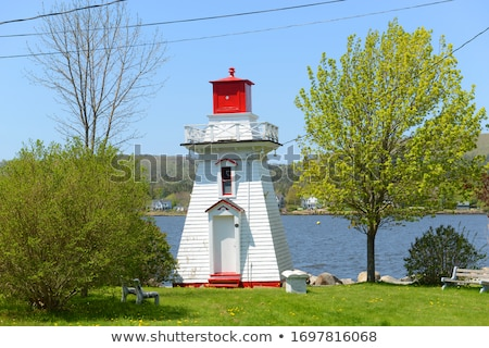 French Point Lighthouse in Nova Scotia Stock photo © benkrut