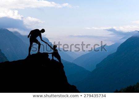 Himalaia inspirado paisagem vale ver belo Foto stock © blasbike