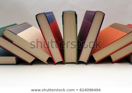 Boek titel school onderwijs geschreven wervelkolom Stockfoto © Zerbor