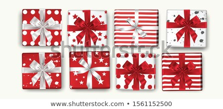 christmas garlands   set of modern vector realistic isolated elements stock photo © decorwithme