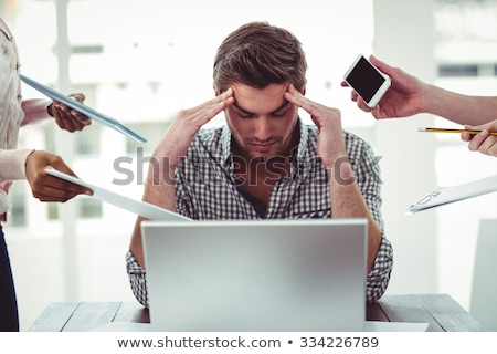 Businessman stressed stock photo © stevanovicigor