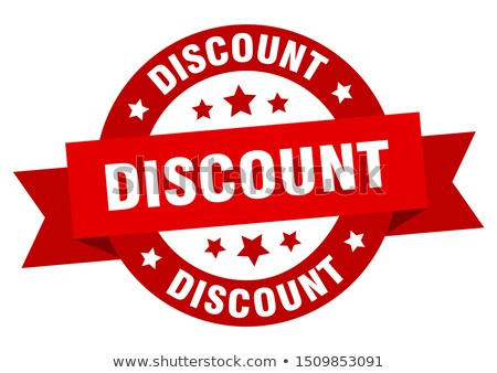 Discount signs Stock photo © colematt