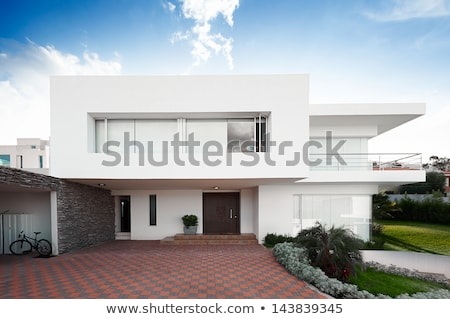 Front of Modern House Stock photo © 2tun