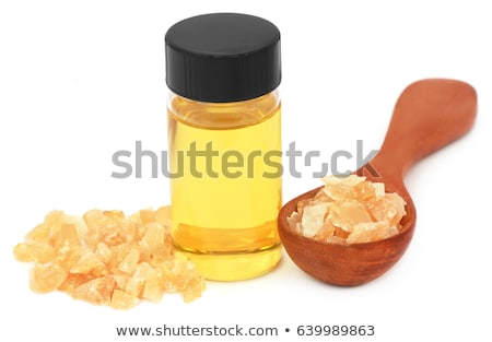 Stock photo: Frankincense dhoop with essential oil