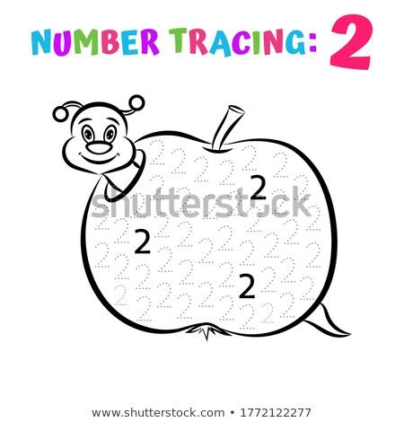数学 番号 背景 芸術 書く 図面 ストックフォト © colematt