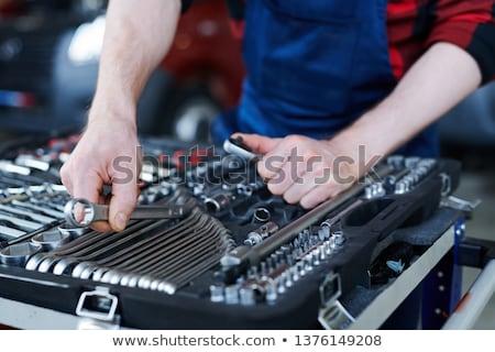 Choosing handtool for work Stock photo © pressmaster