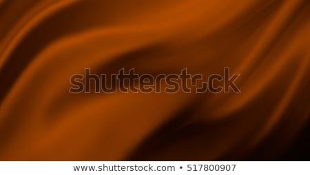 Kahverengi ipek Stok fotoğraf © devon