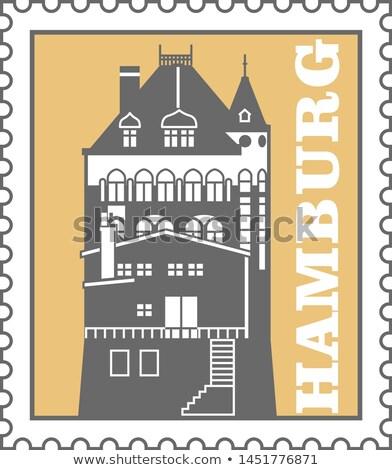 Amburgo città porta magazzino emblema Foto d'archivio © Winner