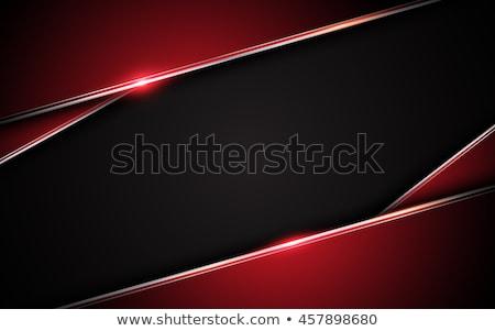 Modern karanlık kırmızı üçgen model dizayn Stok fotoğraf © SArts