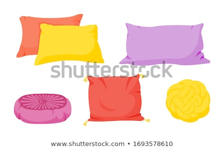 Domestic Pillow For Comfortable Sleeping Vector Stock photo © pikepicture
