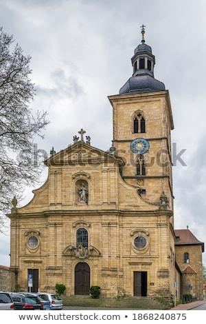 kilise · Almanya · görmek · kale · tepe · şehir - stok fotoğraf © borisb17