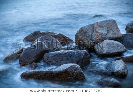 stones in surf waves.  Stock photo © g215