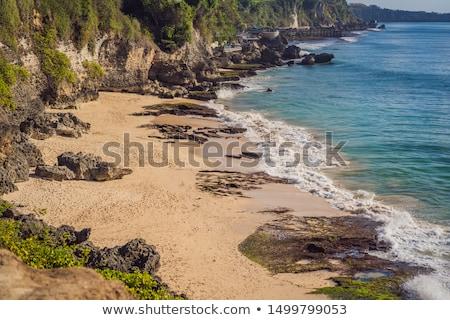 Pantai Tegal Wangi Beach, Bali Island, Indonesia Stock photo © galitskaya