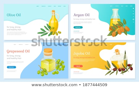 Information About Argan Oil in Bottle, Argania Stock photo © robuart