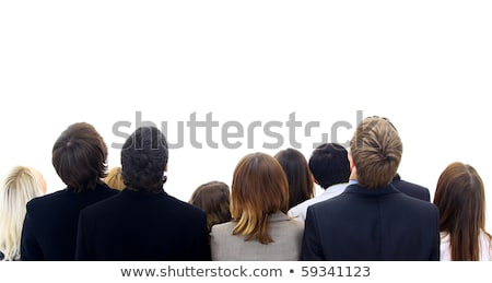 Crowd of People Looking Upward Stock photo © cteconsulting