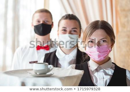 Working waiters Stock photo © tromboneart