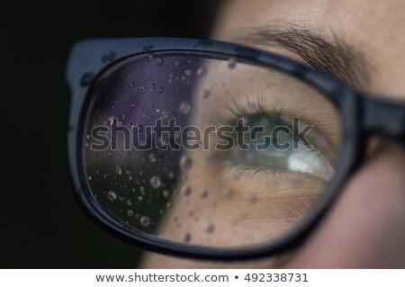 wet eye glasses  Stock photo © zkruger