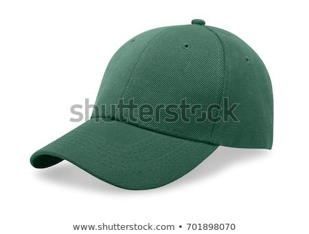Green baseball cap isolated on white Stock photo © tetkoren