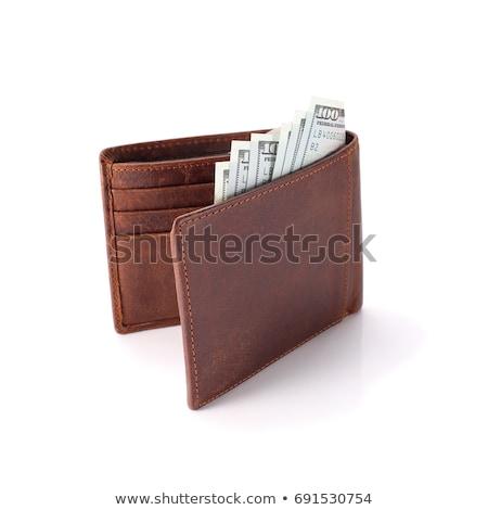 dinheiro · ganância · homem · de · negócios · caso · dólares - foto stock © borysshevchuk