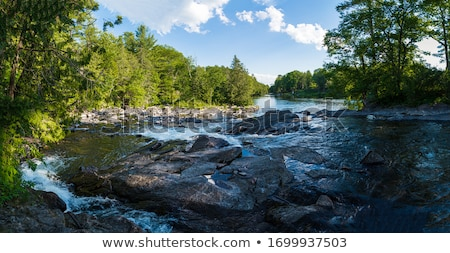Víz folyó folyadék spray folyam mozgás Stock fotó © CrackerClips