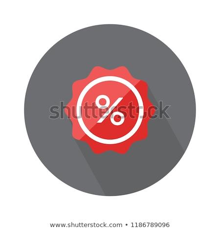vector label percent stock photo © imaster