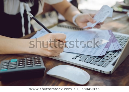 Credit history Stock photo © nenovbrothers