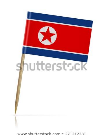 Minyatür bayrak kuzey yalıtılmış Stok fotoğraf © bosphorus