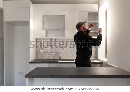 Kitchen Remodel - Cabinets Stock photo © lisafx