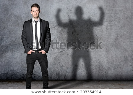 A self-assured man Stock photo © photography33