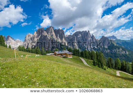 Catinaccio - Sforcella peak Stock photo © Antonio-S
