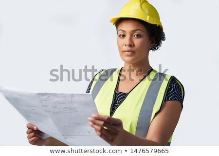 успешный · женщины · архитектора · красивой · молодые · строительство - Сток-фото © wavebreak_media