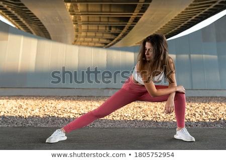 Kadın bacaklar dışarı sağlık ayak Stok fotoğraf © wavebreak_media