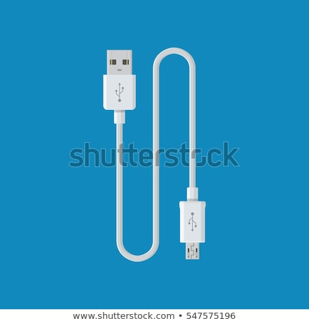 Stock photo: usb charger cable
