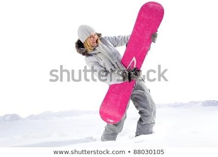 Young woman playing with pinwheel Stock photo © wavebreak_media