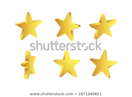 abstract glossy 3d star Stock photo © rioillustrator