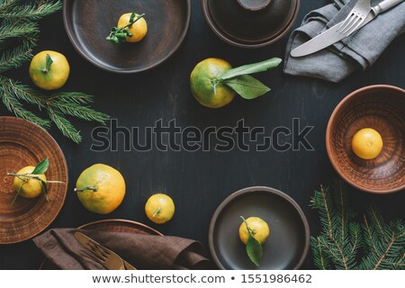 Pottery on the table. Stock photo © borysshevchuk