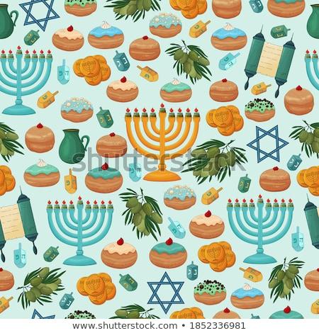 Hebraico vetor projeto cartas escrita Foto stock © HypnoCreative