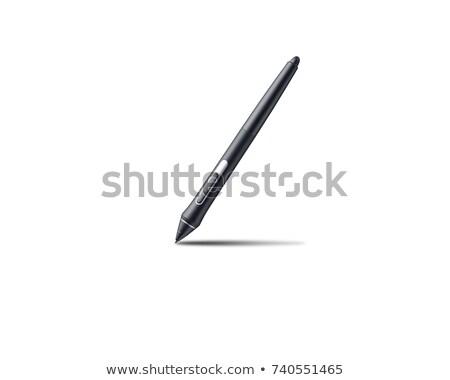 ensülin · kalem · tablet · siyah · tablo · tıbbi - stok fotoğraf © boyzzzzz
