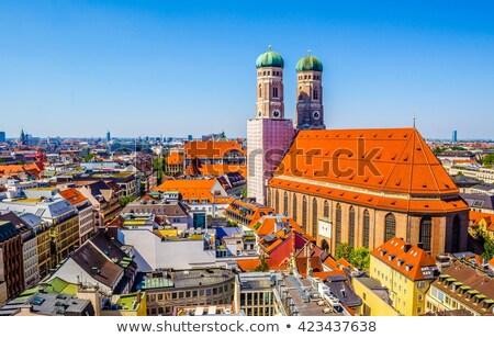 ミュンヘン 2 塔 大聖堂 教会 ストックフォト © faabi