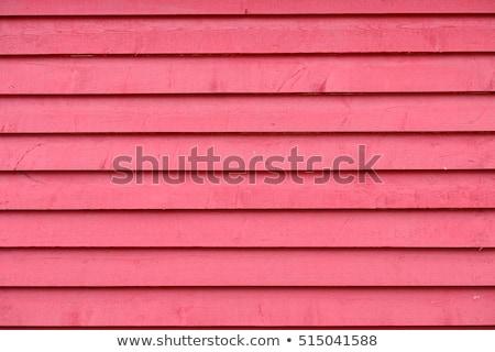 красный дома белый гаража двери жалюзи Сток-фото © iriana88w