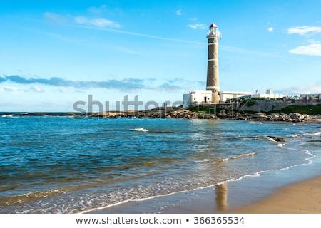Világítótorony Uruguay víz természet tájkép tenger Stock fotó © xura