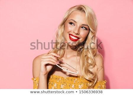 czyste · skóry · pani · zmysłowy · biustonosz - zdjęcia stock © majdansky