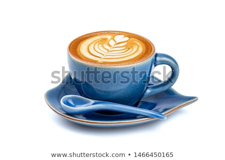 Bonen koffie geïsoleerd witte chocolade Stockfoto © dla4