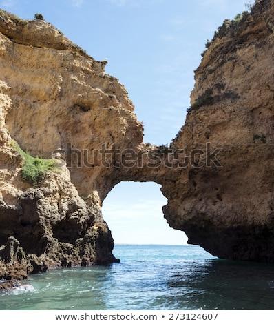 海岸 · 自然 · 橋 · 海 · 波 · ビーチ - ストックフォト © compuinfoto