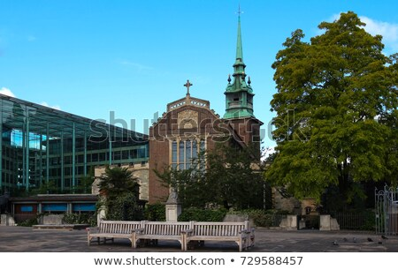 All Hallows by the Tower Church in London Stock photo © chrisdorney