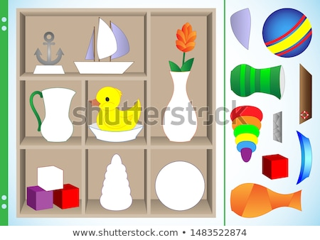 Accordance - Puzzle on the Place of Missing Pieces. Stock photo © tashatuvango
