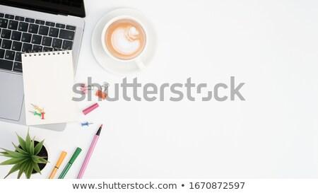 Laptop biurko okulary notatnika biuro Zdjęcia stock © wavebreak_media