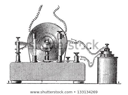 Vintage иллюстрация словарь слов Сток-фото © Morphart
